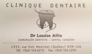 ILouise Alie dentiste