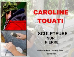 logo Caroline T complet