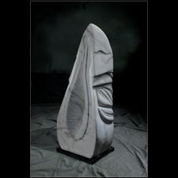 FOGLIA, marmo statuario di Carrara