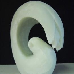 CocooningAlbâtre et granite23 x 16 x 13 cm