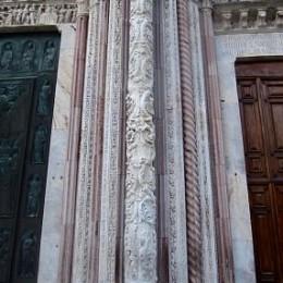Colonnes du Duomo de Sienne